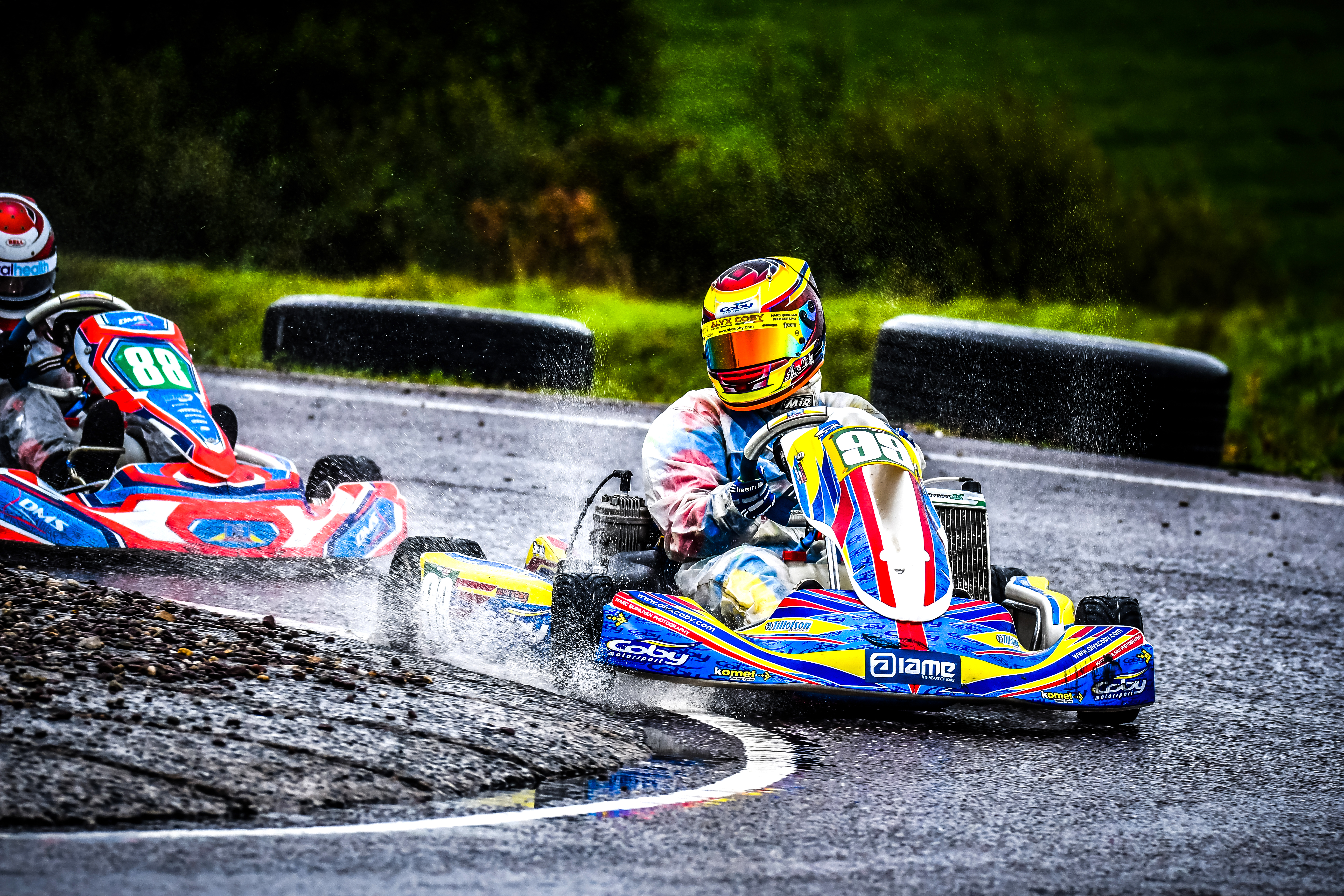 Alyx Coby At Round 8 Of The Motorsport Ireland Karting Champions